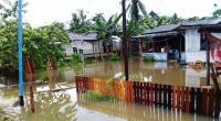 Sungai Botol Meluap, Warga di Distrik Nimbokrang Kebanjiran