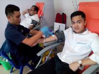 Targetkan 100 Kantong, Partai Perindo Gelar Donor Darah di Pekanbaru