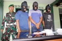Diduga Bandar Sabu, Pecatan Polisi Ditangkap TNI