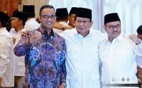 Dihadapan Prabowo, Ini Candaan Anies Baswedan ke Sudirman Said