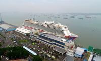 Genting Dream Cruise, Kapal Pesiar Terbesar Se-Asia Tenggara Sandar di Surabaya
