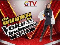 Selamat! Sharla Jadi Juara The Voice Kids Indonesia Season 2