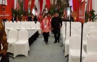 Megawati Pantau Persiapan Rakornas 3 Pilar PDIP di BSD