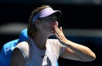 Maria Sharapova Lolos dari Rintangan Pertama di Australia Open 2018