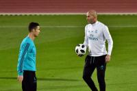 Zidane Tetap Berharap Ronaldo Bertahan di Madrid