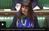 Nus Ghani, Perempuan Muslim Pertama yang Berbicara di Mimbar Parlemen Inggris