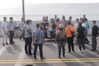Balapan Liar di Jembatan Dompak, Johan Tewas Dilempar Kayu