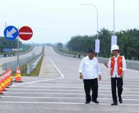 Presiden Jokowi Akan Resmikan Tol Trans Sumatera Besok