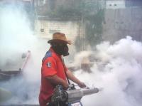 Perindo Surabaya Gencarkan <i>Fogging</i> untuk Bebaskan Wabah DBD
