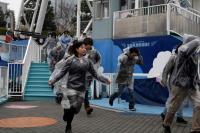 Antisipasi Rudal Korut, Tokyo Gelar Simulasi Evakuasi