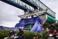 Respons PT Wika Terkait Ambruknya Konstruksi Proyek LRT di Jakarta Timur
