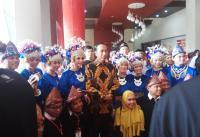 Jokowi ke Warga Palembang: <i>Apo</i> Kabar <i>Dulur</i>?