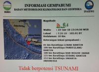 Gempa Banten Terasa Sampai Banyumas, Pasien RSUD Sempat Ketakutan