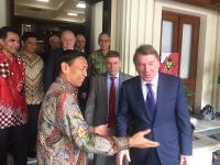 Menko Polhukam Wiranto Bertemu Utusan Rusia Bahas Terorisme hingga Sukhoi