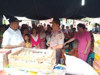 Bantu Korban Gempa, Polda Banten Kirim Dua Truk Sembako ke Lebak