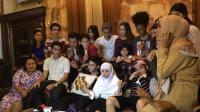 Kemeriahan Syukuran 50 Episode Catatan Harian Aisha