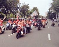 Ada Konvoi Jakmania, Jalan Merdeka Selatan Ditutup Sementara