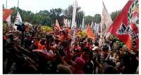 Persija dan Jakmania Tinggalkan Balai Kota, Lalin Medan Merdeka Selatan Dibuka