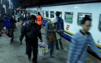 Jalur di Grobogan Longsor, 8 KA Semarang-Madiun Dialihkan