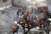 Ledakan Dahsyat, Ratakan Hotel Berlantai Tiga di India, 18 Tewas