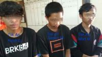 Berkaus Bola, 3 Remaja Jambret Tas Pemotor di Jombang Ciputat