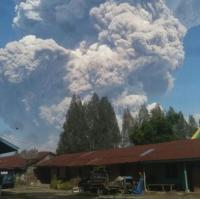 Gunung Sinabung Meletus, BPBD: Belum Ada Laporan Korban Jiwa