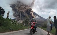 Abu Vulkanik Gunung Sinabung Tercemar hingga ke Aceh Tenggara