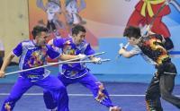 Tim Wushu Indonesia Sabet 3 Medali Emas dalam Kejuaraan di Rusia