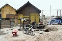 Satu Rumah di Karo Hanyut Diterjang Banjir Lahar Dingin Gunung Sinabung
