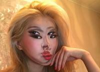 Make-Up Ilusi Optik Perempuan Korea Ini Memikat Hati dan Mata Dunia