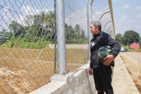 Gerilya Bervespa, Dedie Rachim Tinjau Infrastruktur Pinggiran Kota Bogor