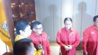 Sekjen PDIP Silaturahmi ke DPP Golkar Bahas Konsolidasi Usung Jokowi di Pilpres 2019