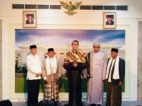 Undang Ulama Se-Banten, Jokowi Sampaikan Kondisi Bangsa