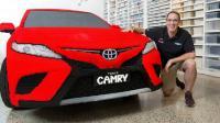 Jangan Tertipu! Toyota Camry Ini Dirangkai dari Kepingan LEGO