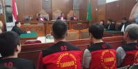 Hakim Tunda Vonis Terdakwa 1 Ton Sabu