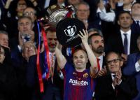 Iniesta Dapat Sambutan Hangat di Laga Final Terakhirnya Bersama Barcelona