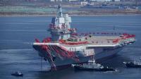 China Siap Uji Coba Kapal Induk Produksi Dalam Negeri Pertamanya