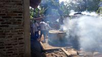 Jelang Bulan Ramadan, Perindo Pemalang Gencar Asapi Rumah Warga