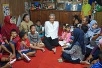 Ganjar Pranowo Takjub dengan Pedagang Mie Ayam Dirikan Sekolah Difabel