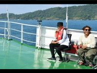 Tawa Presiden dan Menteri Susi di Atas Kapal