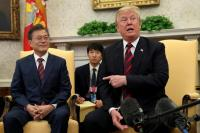 Trump Ragukan Pertemuan dengan Kim Jong-un Akan Terjadi pada Juni