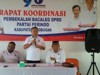 Pembekalan Politik Perindo Grobogan, Bacaleg Wajib Kerja Efisien Hasil Optimal