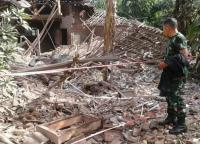 Petasan Meledak di Malang, Rumah Hancur dan Satu Orang Tewas