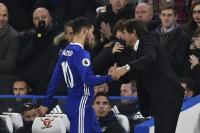 Hazard: Masa Depan Saya di Chelsea Bergantung pada Conte