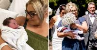 5 Jam Pasca-Melahirkan, Wanita Ini Nekat Jadi Bridemaids