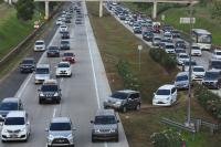 133 Ribu Kendaraan Sudah Balik ke Jakarta via Tol Jakarta-Cikampek