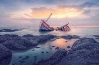 Kecelakaan Kapal Motor di Danau Toba Akibat Tabrak Keramba Ikan