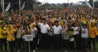 Fasha-Maulana Beri Hiburan Kejutan di Kampanye Akbar Pilkada Kota Jambi