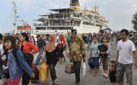 Ribuan Pemudik Sudah Kembali ke Pulau Jawa via Pelabuhan Merak