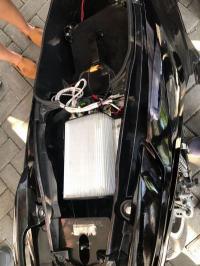 Cukup Isi Baterai Rp5000, Sepeda Motor Listrik Bisa Capai 100 Km